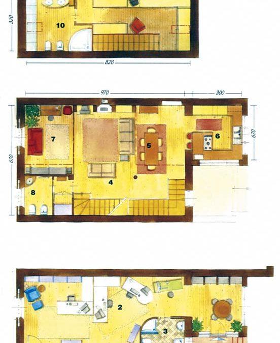 Χτίζω – διακοσμώ 209 τ.μ. σε τρεις ορόφους